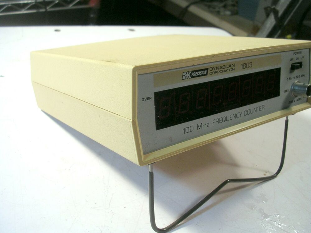 Photo Eye Frequency Counter : Bk precision frequency counter model ebay