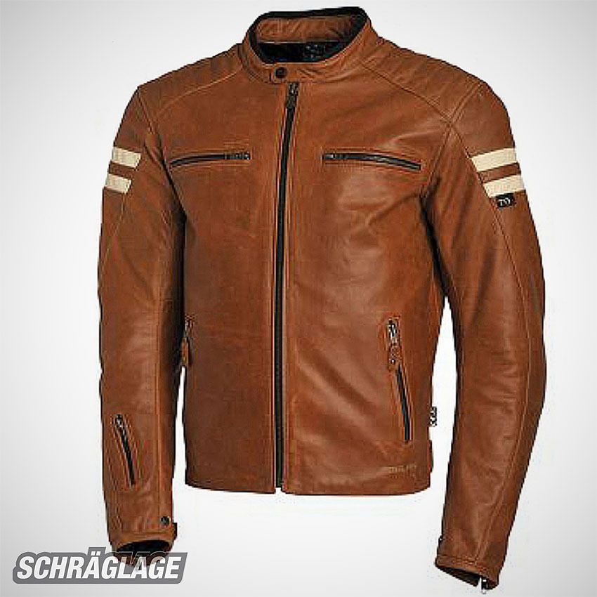 segura lederjacke retro hellbraun camel motorrad jacke. Black Bedroom Furniture Sets. Home Design Ideas