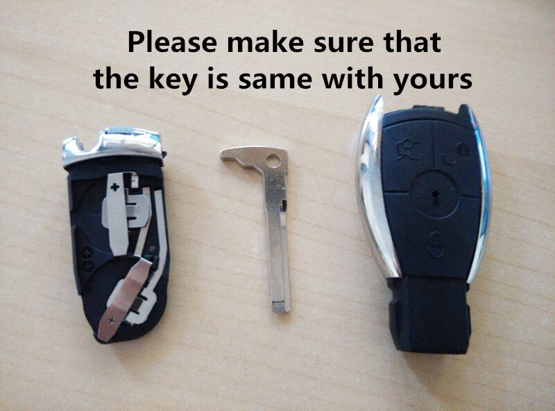 Mercedes benz remote key shell case to suit c e s class for Mercedes benz remote