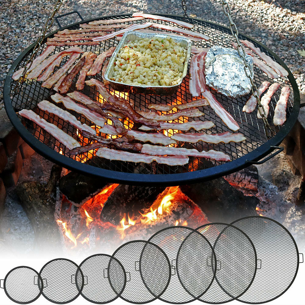 Outdoor Fire Pit Cooking Grill Grate - FREE SHIPPING! | eBay