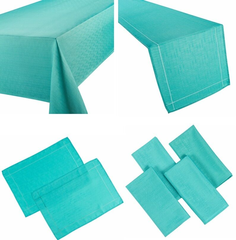 LINEN LOOK TEAL TABLE CLOTHS TURQUOISE PLAIN BIRTHDAY  : s l1000 from www.ebay.co.uk size 795 x 809 jpeg 62kB