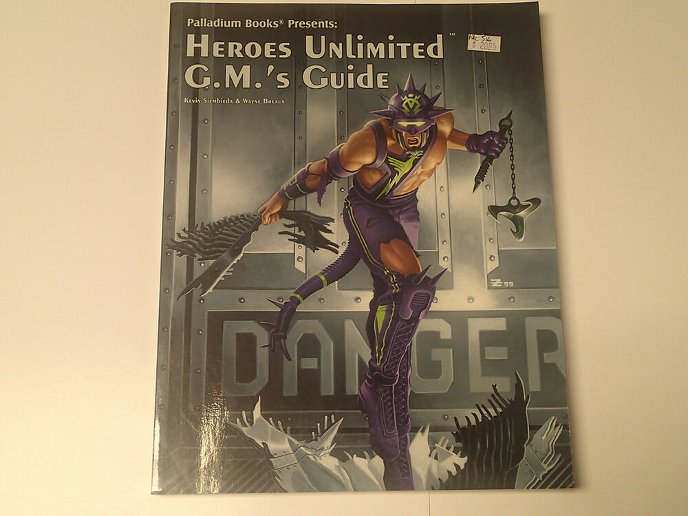 Heroes Unlimited Rpg 2nd Edition