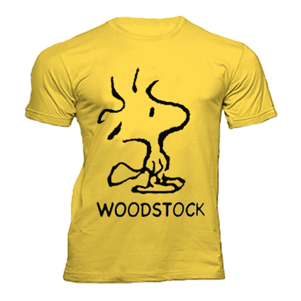 woodstock snoopy peanuts t shirt ebay. Black Bedroom Furniture Sets. Home Design Ideas