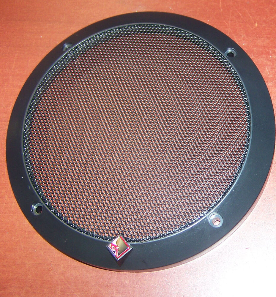 12 Quot Subwoofer Grill ~ New rockford fosgate speaker grill car audio power