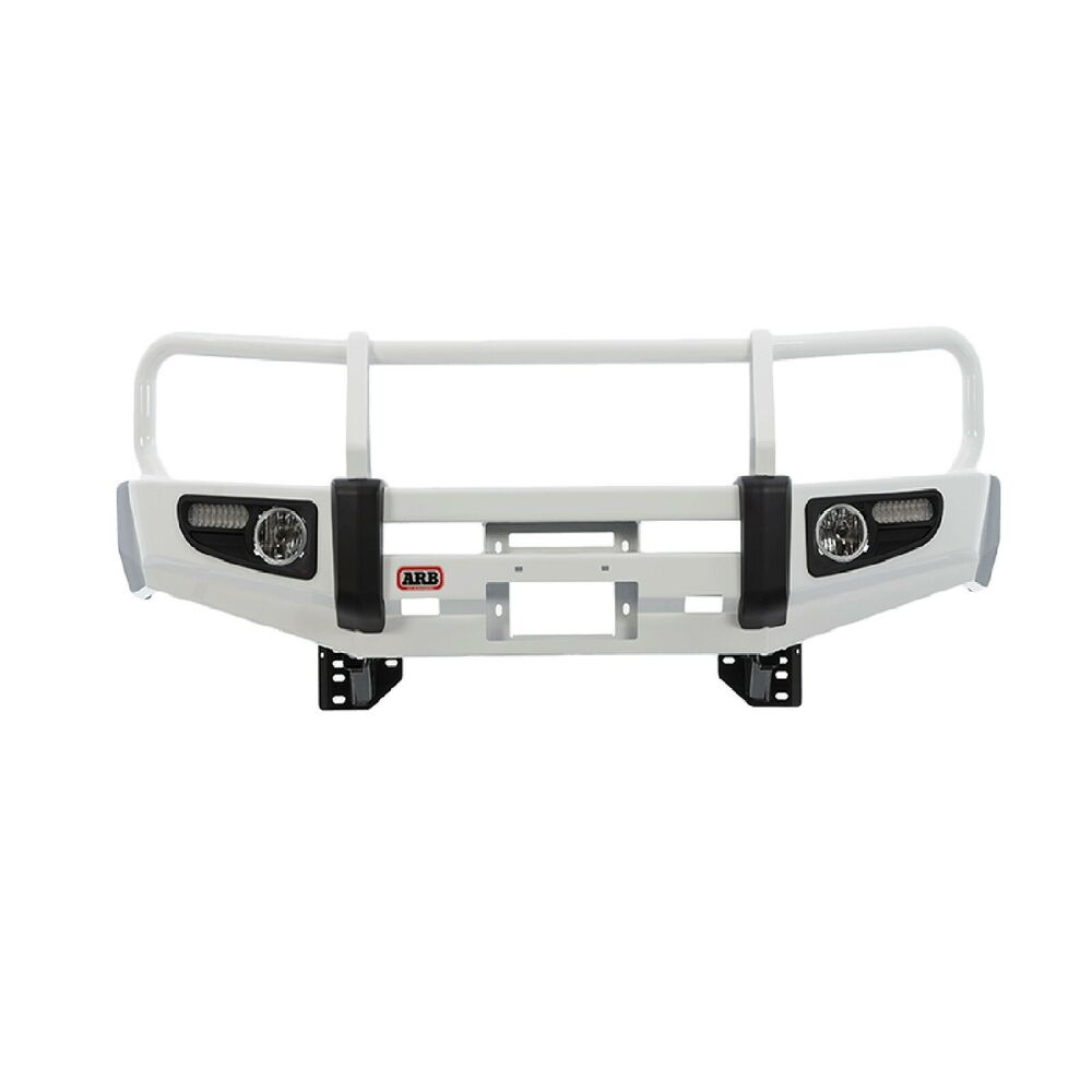 Arb 3413190 Deluxe Bull Bar W Winch Mount For Toyota Land
