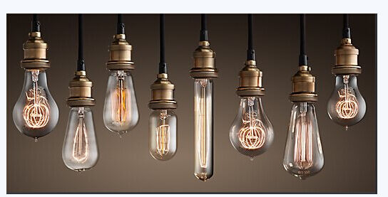 Filament Light Bulb Vintage Antique Retro Industrial Style ...