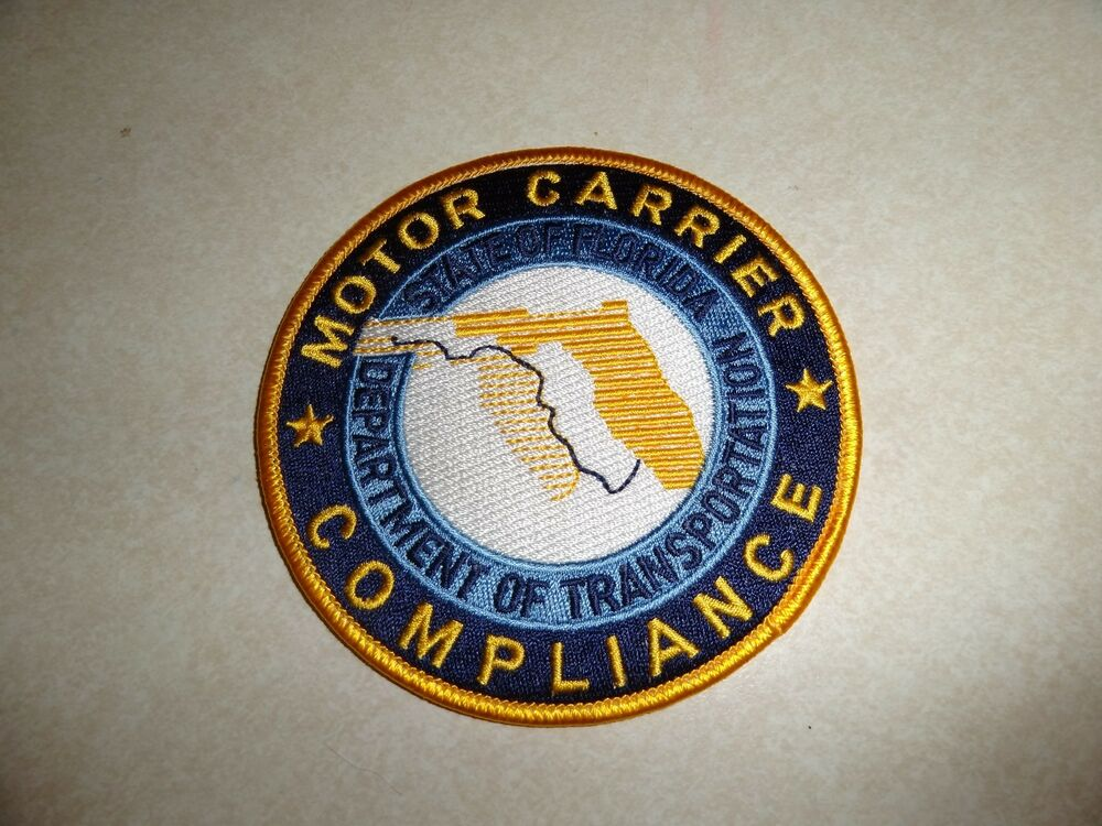 law enforcement patch motor carrier compliance state of