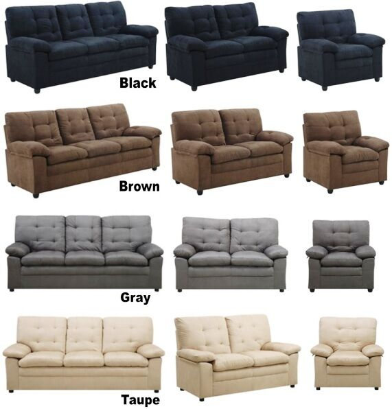 Pick any combination furniture collection sofa loveseat for Couch loveseat combo