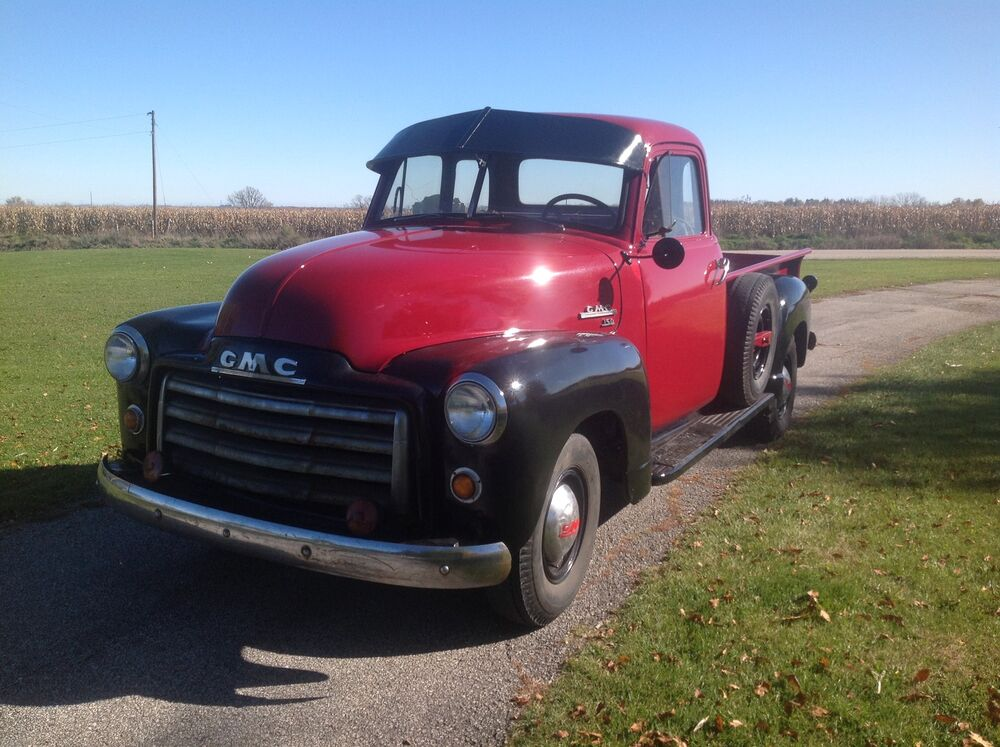 1951 gmc chevy 5 window pick up truck rare with video one for 1951 gmc 5 window pickup