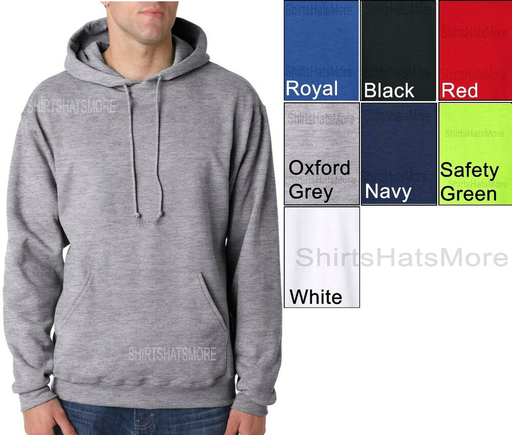 Mens tall poly cotton fleece pullover hooded sweatshirt for Mens xlt t shirts
