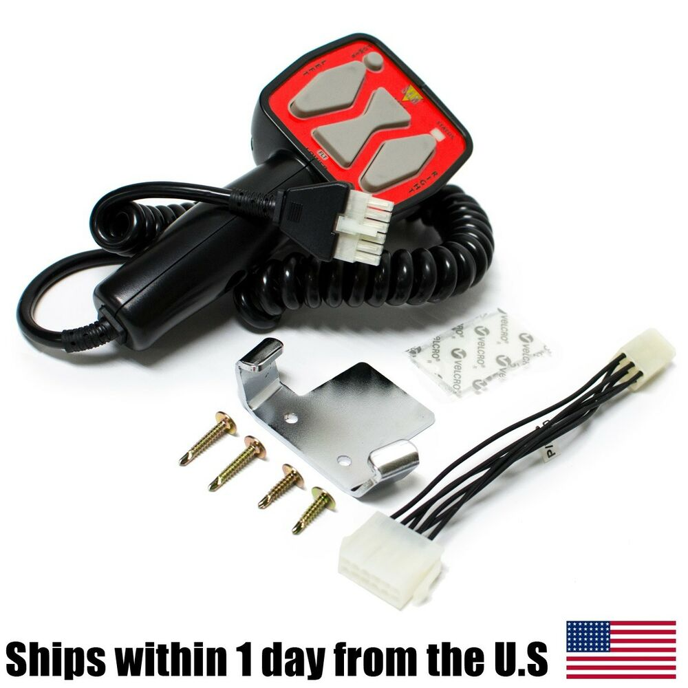 Snow Plow Control Switch : Snow plow snowplow blade hand controller remote switch