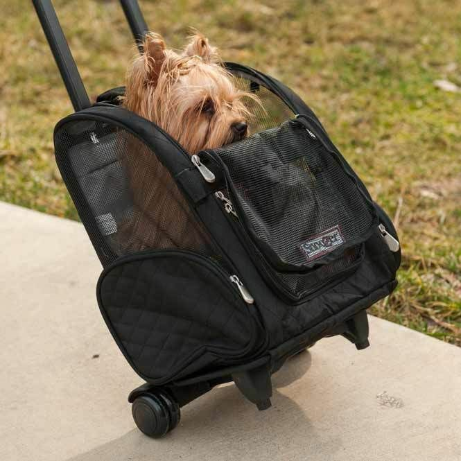 Pet Carrier 4-in-1 Snoozer Roll Around