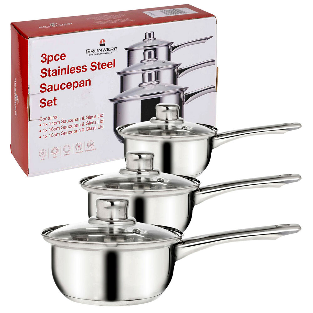 Steel Glass Set Set Stainless Steel Pots