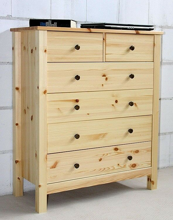 anrichte sideboard apotheker kommode mit schubladen schrank massiv holz kiefer ebay. Black Bedroom Furniture Sets. Home Design Ideas