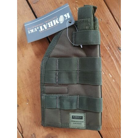 img-Universal Tactical Molle Holster - OLIVE GREEN - Right Handed - New