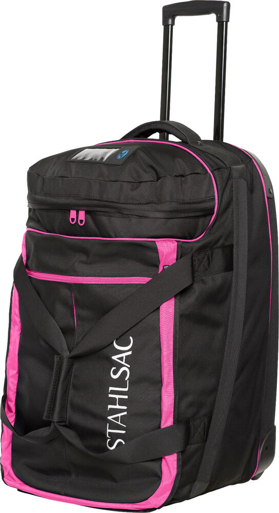 stahlsac jamaican smuggler scuba diving roller travel gear bag pink new ebay On travel gear for diver