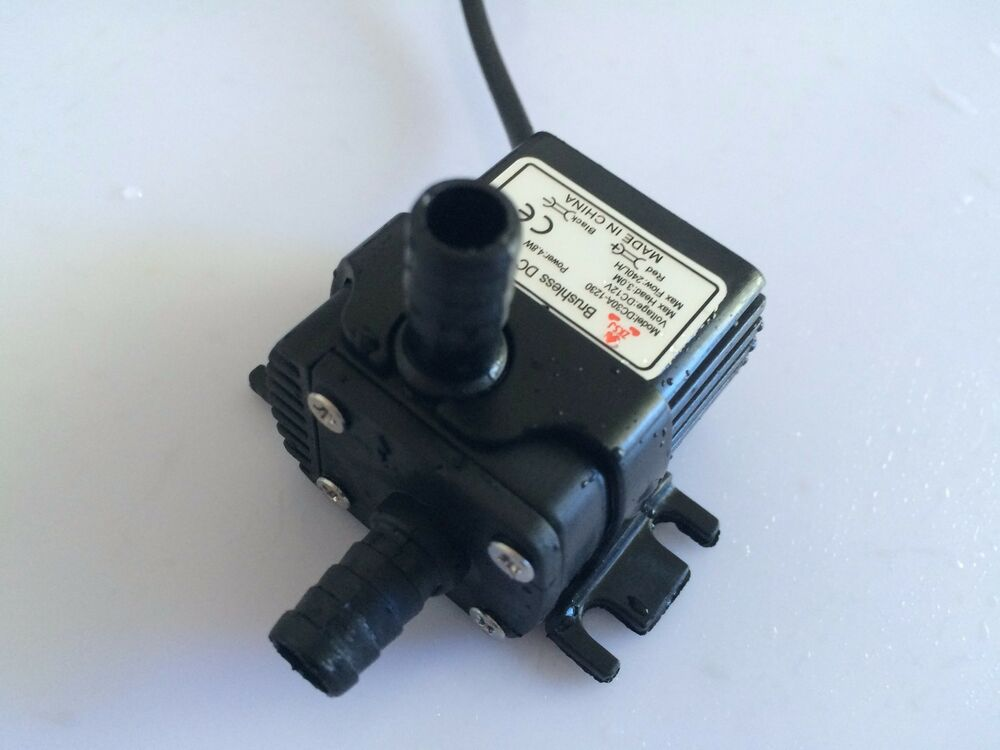 New 30a 1230 240lph 3m 4 2w small brushless dc water pump for Waterproof submersible electric motors