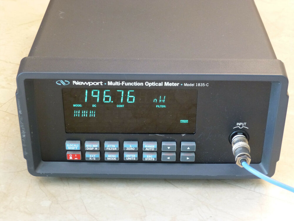 Newport Digital Meter : Newport c optical power meter ebay