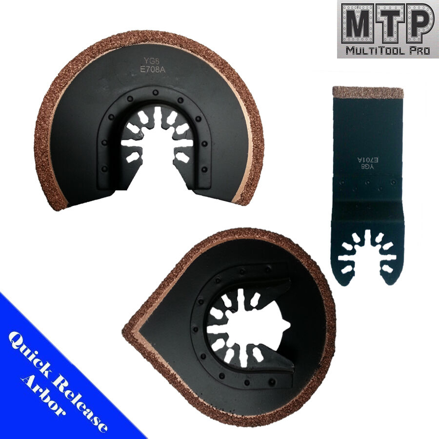 3 Grout Remove Saw Blade Oscillating Multi Tool For Fein