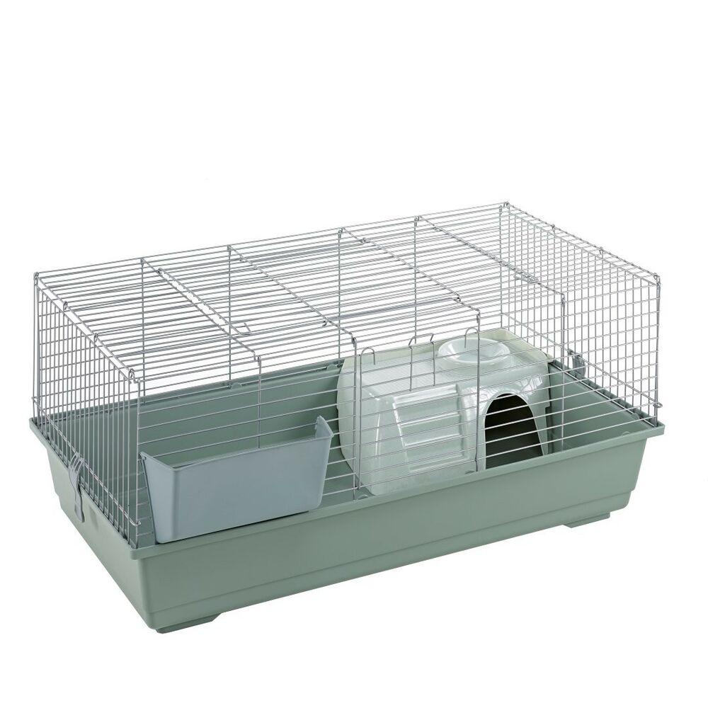 Little friends 100cm indoor rabbit guinea pig cage beige for Discount guinea pig supplies
