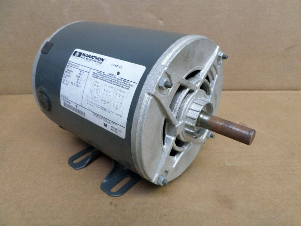 Marathon k122 5k46mn4072a 1 hp electric motor ebay for One horsepower electric motor