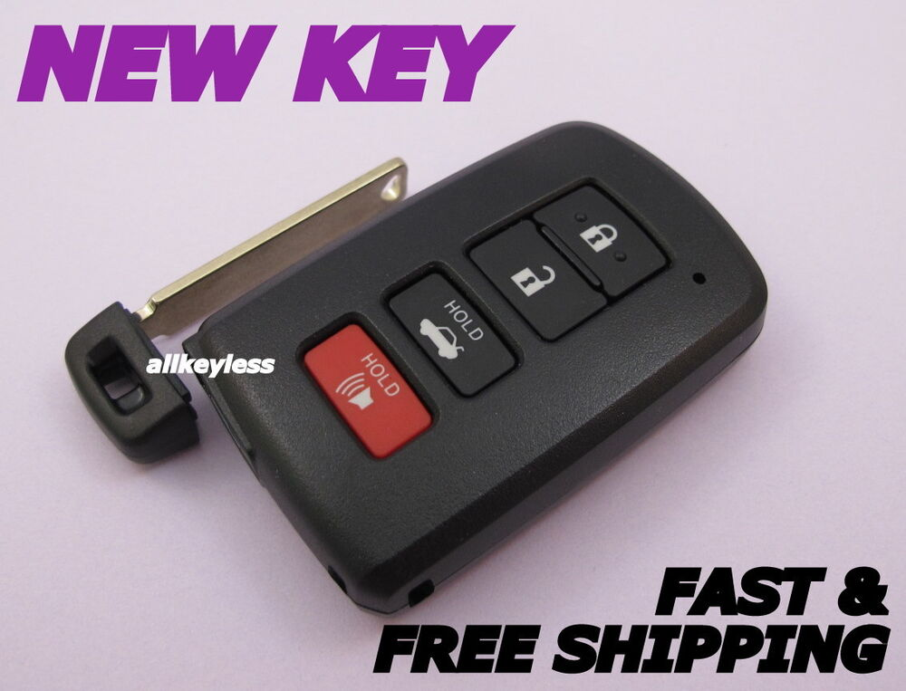 toyota camry avalon smart key keyless entry remote fob transmitter hyq14fba oem ebay. Black Bedroom Furniture Sets. Home Design Ideas