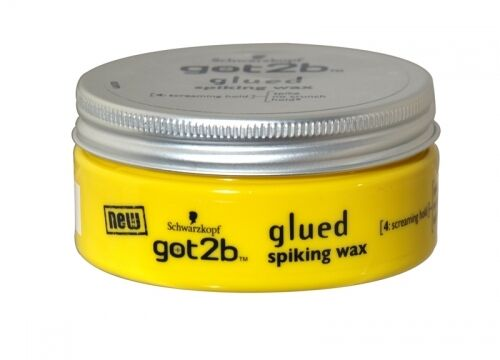 hair wax styling products schwarzkopf got2b glued spiking wax hair styling 75ml ebay 4869