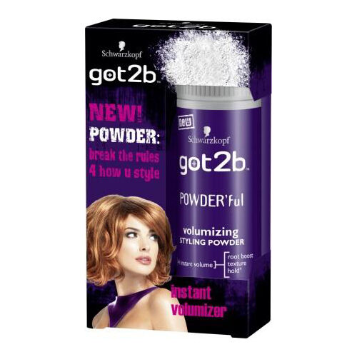 hair styling powder volume schwarzkopf got2b hair volumizing styling powder instant 4216