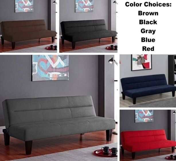 Futon Sofa Bed Wood Futons Convertible Couch Dorm Lounger