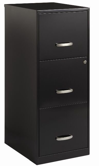 metal office cabinet 3 drawer file cabinet black filing cabinets home office 23272