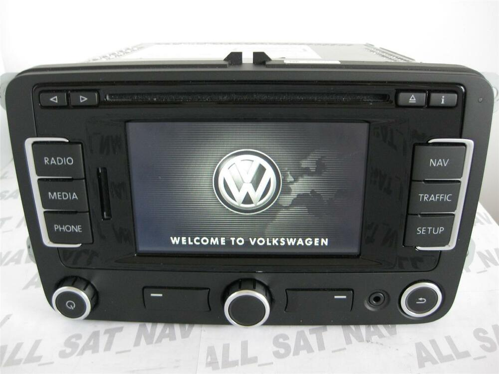 vw rns 315 rns315 navigation system sat nav gps vw replace. Black Bedroom Furniture Sets. Home Design Ideas