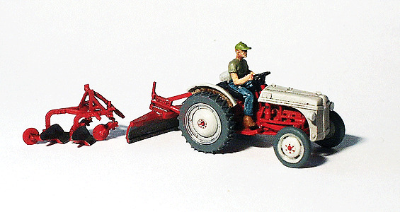 Athearn N Scale 3 Axle Tractor : Ghq farm machinery ford n tractor unpainted