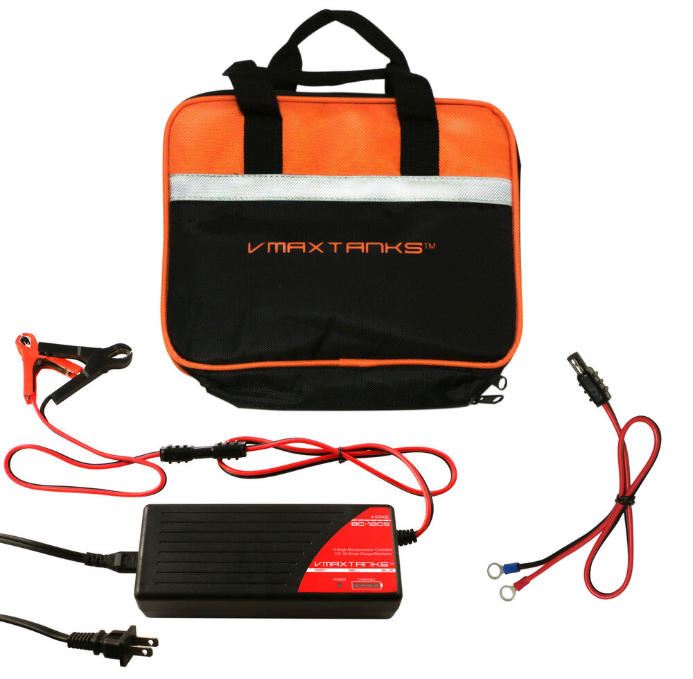 Bc1205 Art Case Vmax 12v 5a Smart Battery Charger Maintainer For Mini Cooper