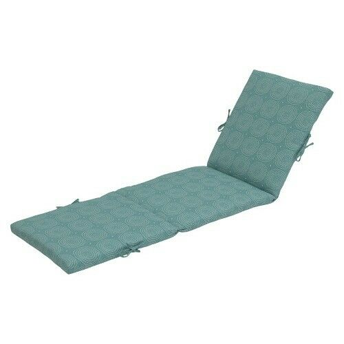 Threshold outdoor chaise lounge cushion ebay for Best chaise lounge cushions