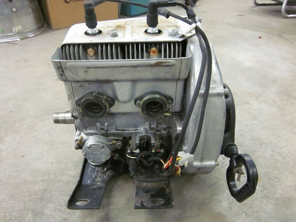 1979 79 Polaris Apollo 340 Fan Cooled Running Engine