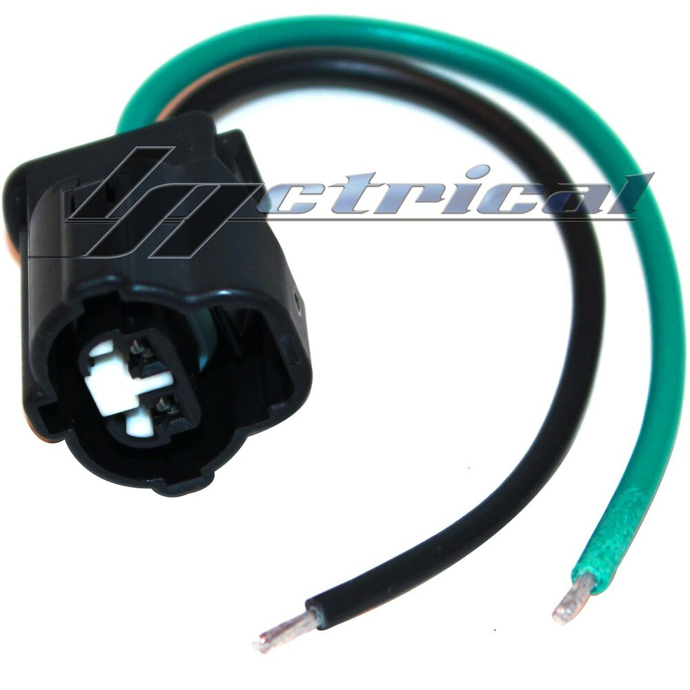 new alternator repair plug hanress 2 pin wire pigtail fits