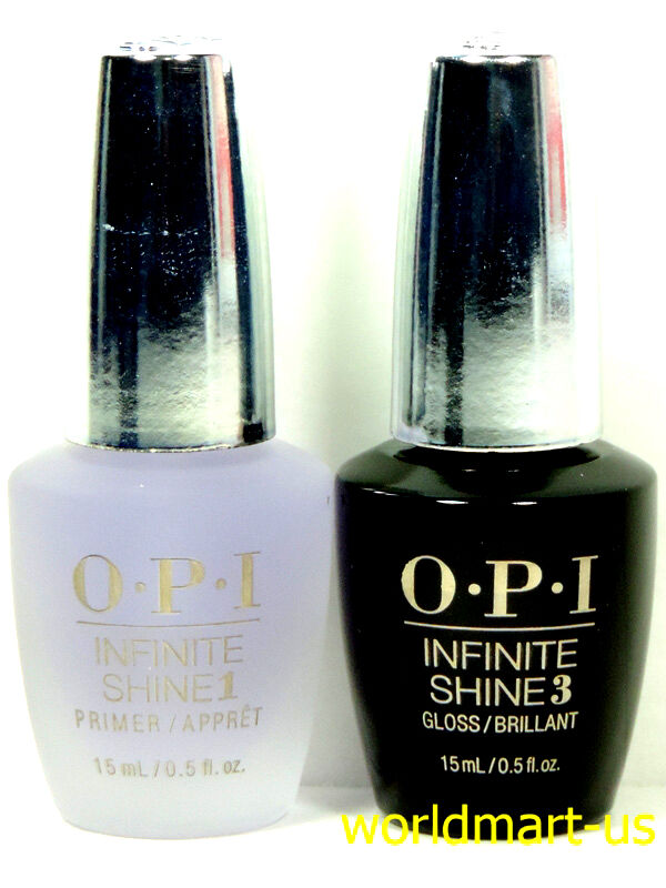 OPI Infinite Shine Polish Nail Lacquer Primer Base Coat ...