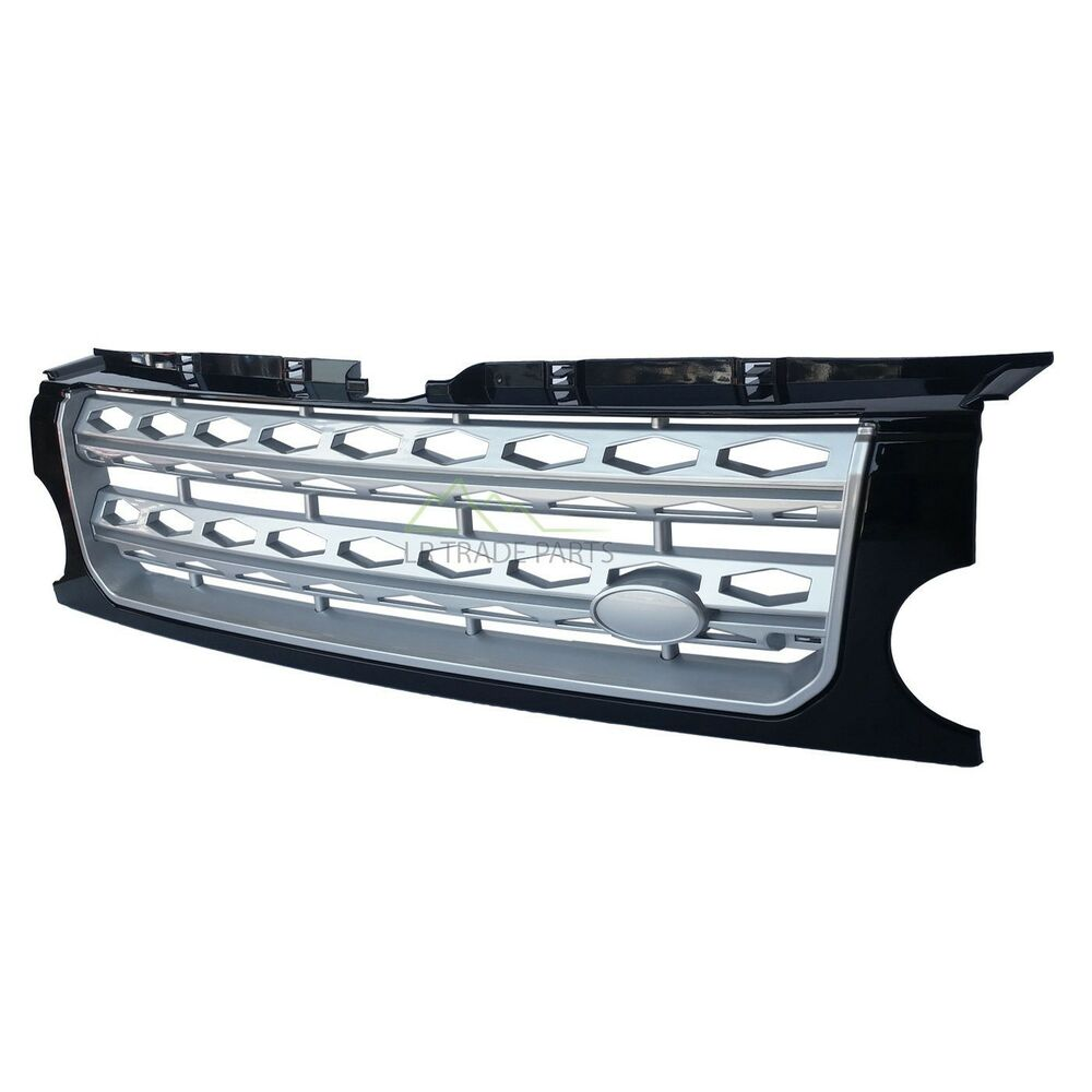 LAND ROVER DISCOVERY 3 FRONT GRILLE UPGRADE DISCO 4 STYLE