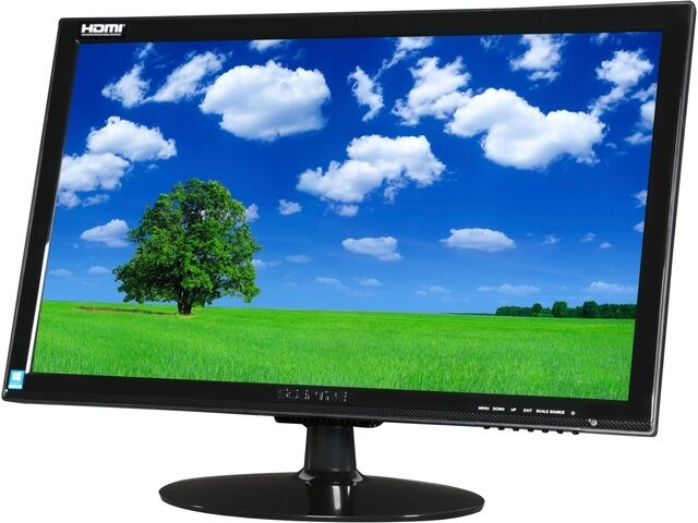 Sceptre E248w 1920 Black 24 Quot 5ms Hdmi Widescreen Led