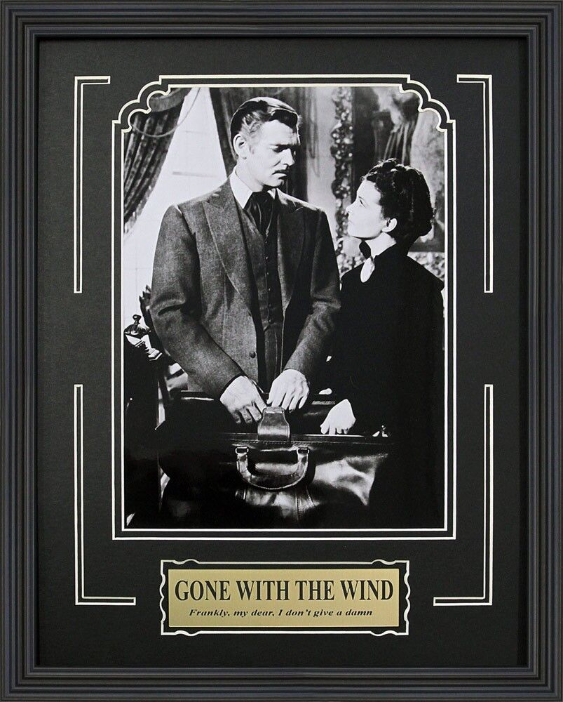 """Gone with the Wind"". Clark Gable and Vivien Leigh. Framed ..."