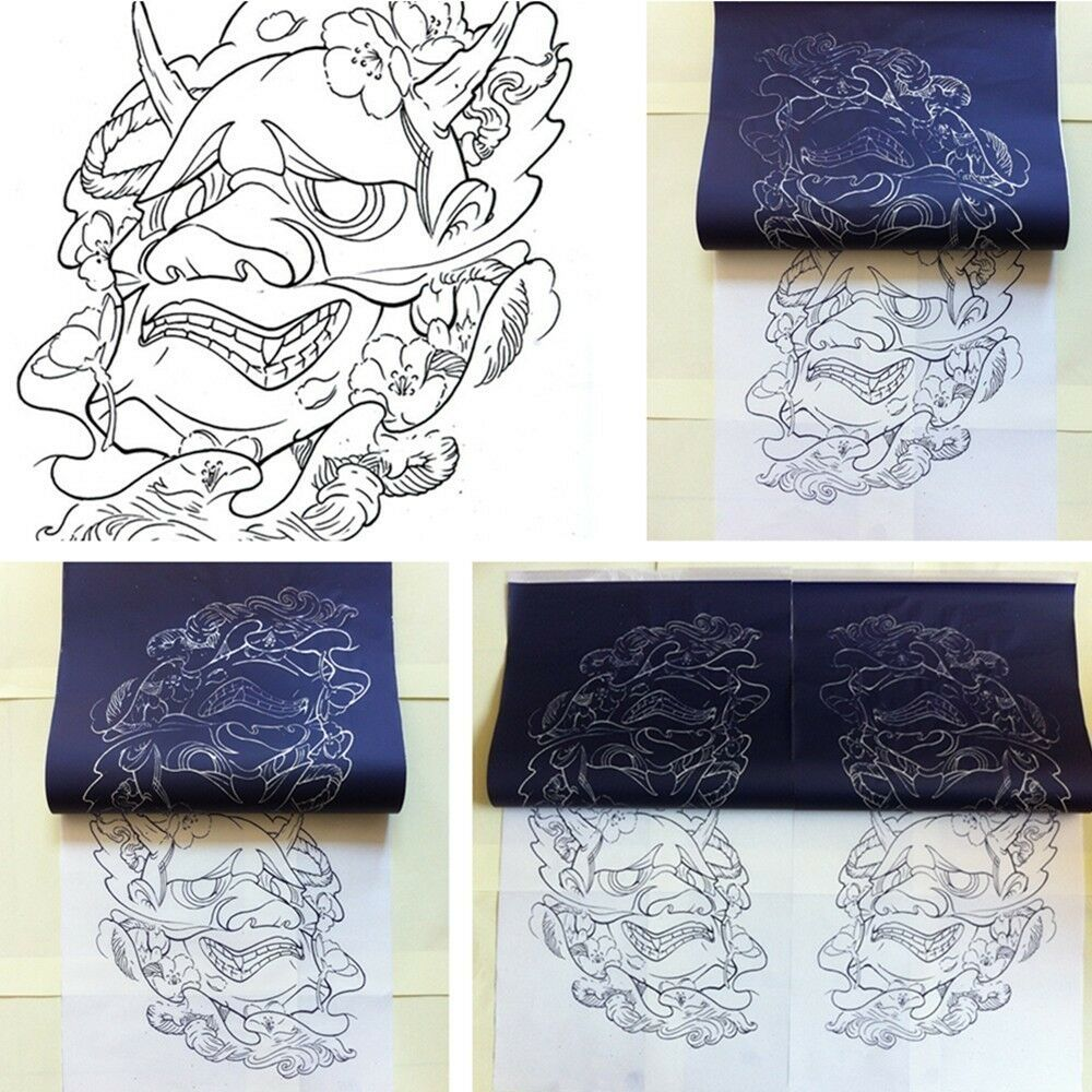 120 x tattoo stencil thermal tranfer papers a4 size for for Tattoo stencil copier