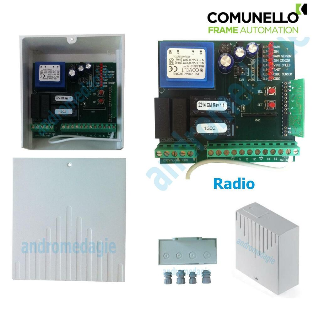 Control unit 230v integrated radio home automation systems for Home automation system