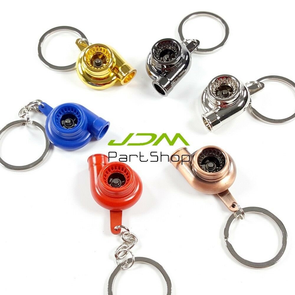 Turbo Keychain: Mini Turbocharger Intercooler Turbo Coilover Spark