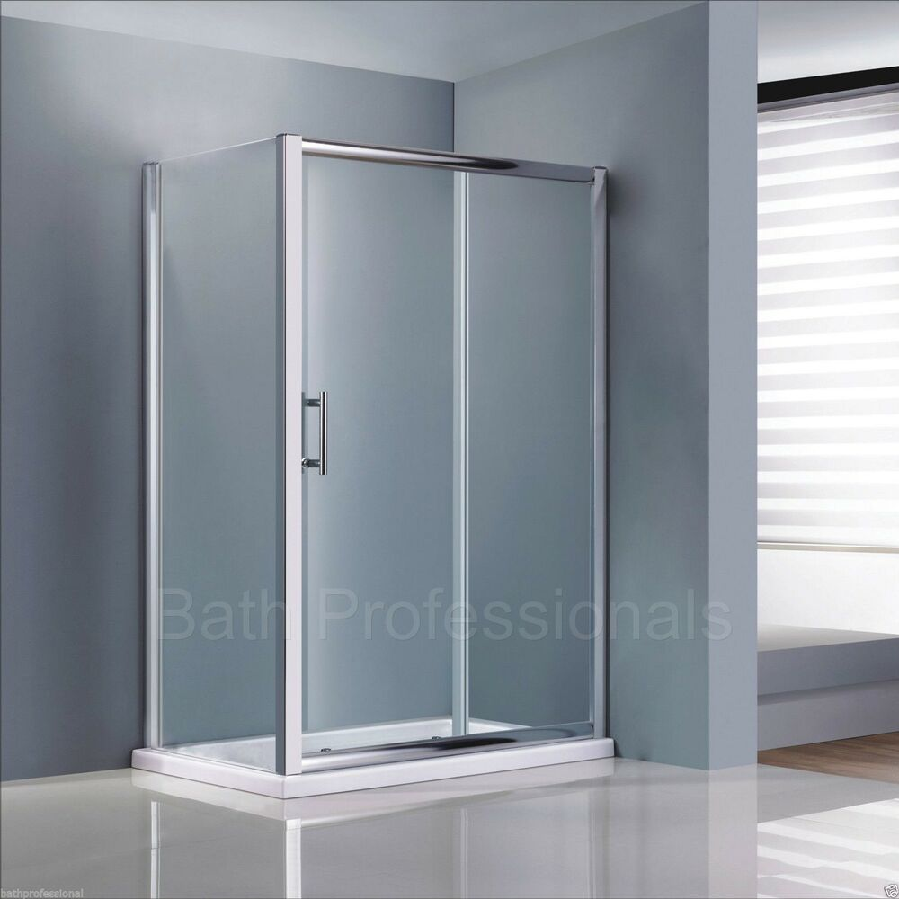 Sliding Doors Shower Enclosure Bathroom Corner Cubicle