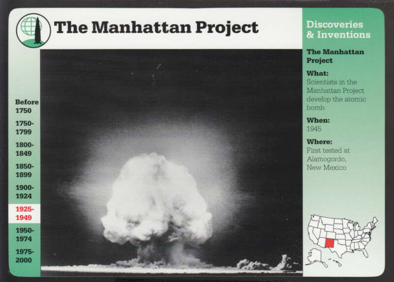 a summary of the manhattan project The manhattan project in the late 1930's and early 1940's there arose such a project that would forever change the way people on this plant would think about the act of warfare the project was known as the manhattan projectthis paper will give several decades of information starting in 1939 to the present as to how this project was one.