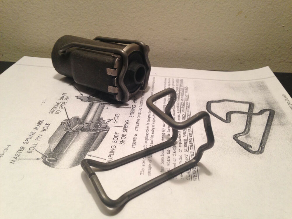 Dodge Charger List >> Rare Dodge Coronet Steering coupler clamp 1967 1968 1969 ...