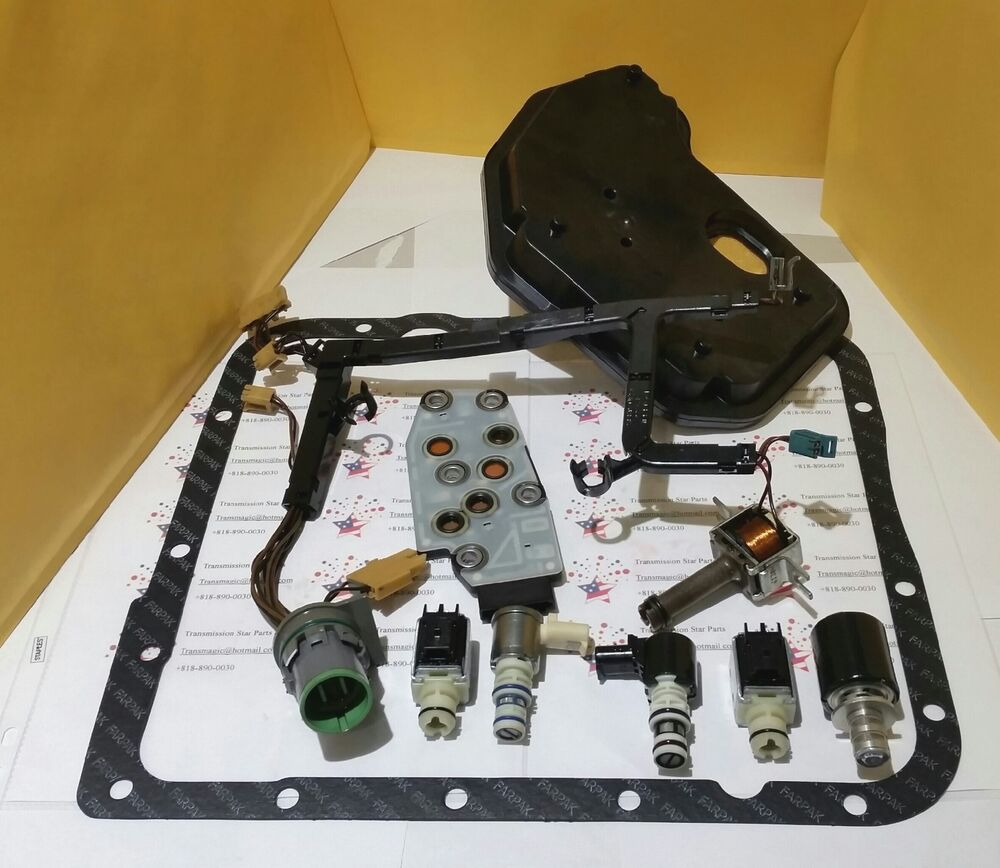 4L60E IN VERY GOOD CONDITION MASTER SOLENOID KIT PLUS NEW PAN GASKET & FILTER | eBay