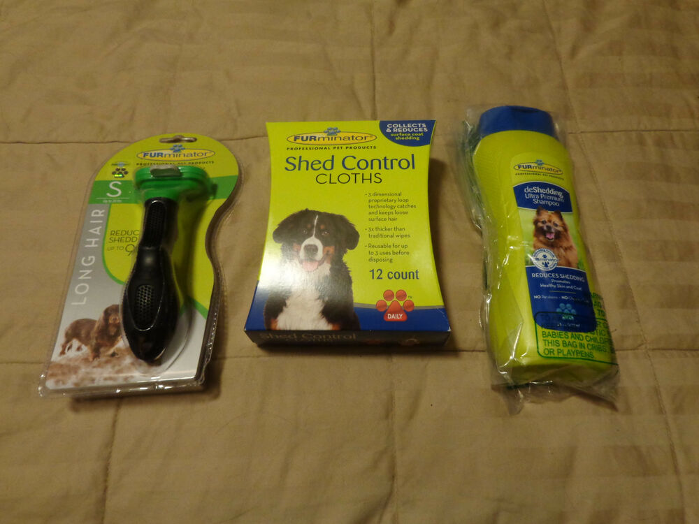 Furminator Deshedding Tool Kit Long Hair Large Dog Shampoo