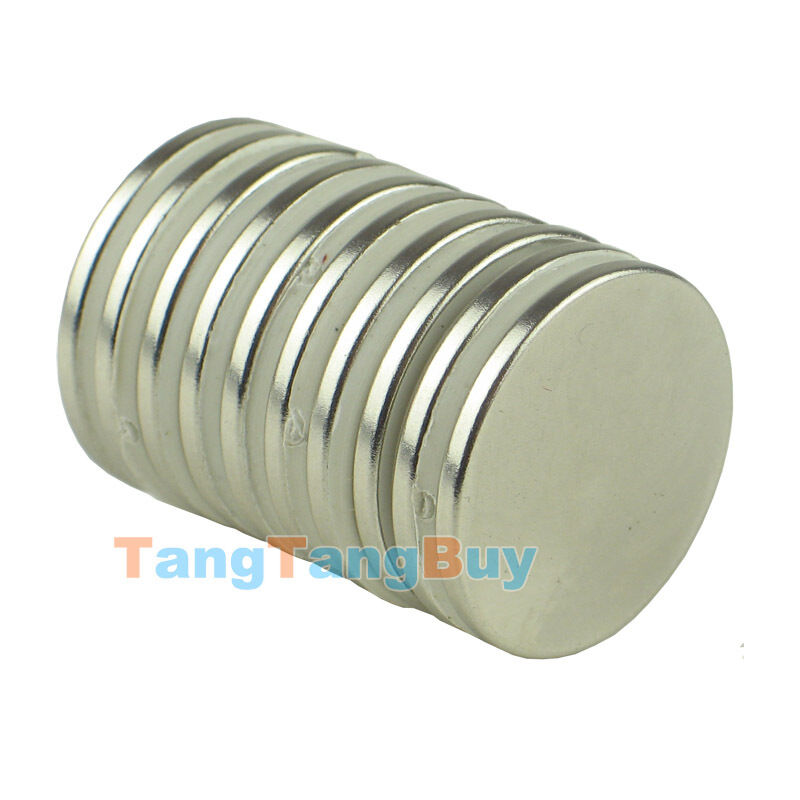 lot super strong 25 mm x 2 mm round disc magnets rare earth neodymium magnet n35 ebay. Black Bedroom Furniture Sets. Home Design Ideas