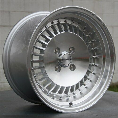 "Bmw Xb: 15"" 15X8 SILVER WHEELS RIMS 4X100 +11MM CIVIC INTEGRA XA"